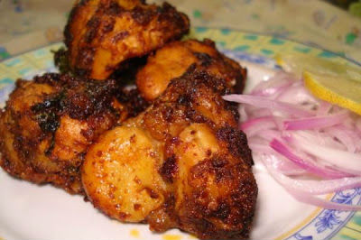 Amritsari Chicken Fry - Amritsari Chicken Fry