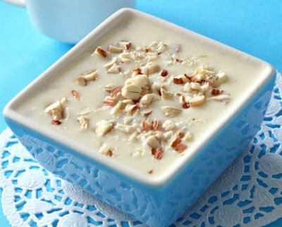 Apple and Paneer Payasam