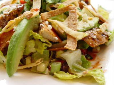 BBQ Chicken Salad - Barbecue Chicken Salad