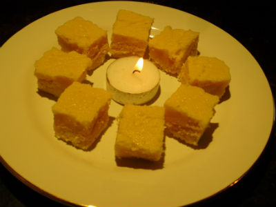 Badam Cashew Cake