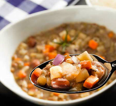 Bean Pasta Soup - Bean and Pasta Soup