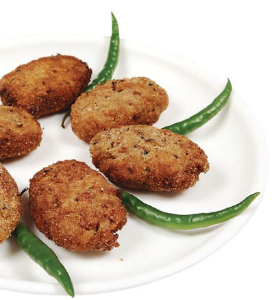 Beans and Oats Cutlet