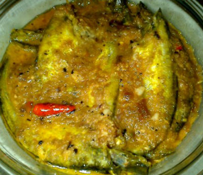 Bengali Fish Curry - Pabda Macher Jhol