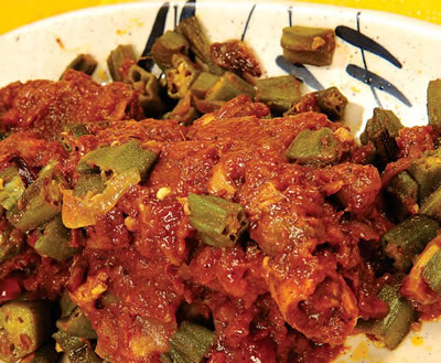 Mutton with Bhindi