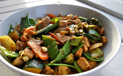 Cashew Vegetable Stir Fry - Cashew Vegetable Stir-Fry