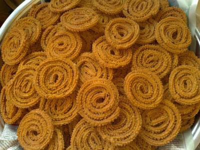 Chakli - Fried Gram Chakli