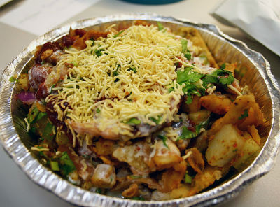 Cheese Chaat - Cheese Chaat