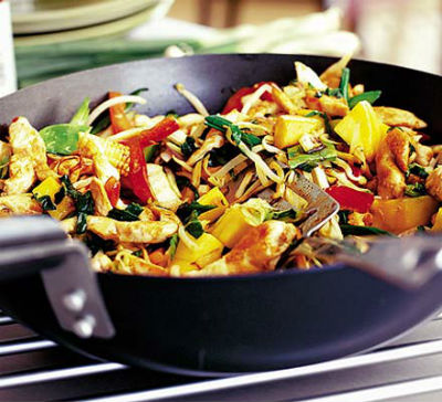 Chicken%20Mango%20Stir Fry - Chicken Mango Stir-Fry