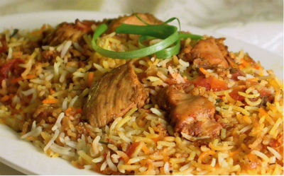 Chicken Biryani - Goan Chicken Biryani