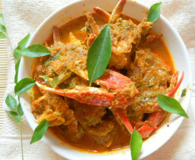 Crab Curry with Coconut - Crab Curry with Coconut