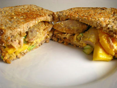 Curried Chicken Sandwich - Curried Chicken Sandwich