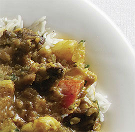 Lamb with Dal Curry