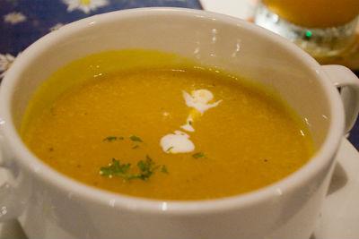 Masoor Dal and Orange Soup