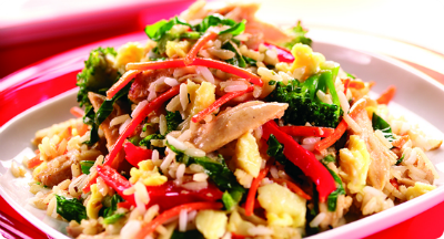 Egg Fried Rice Vegetables - Egg Fried Rice with Vegetables