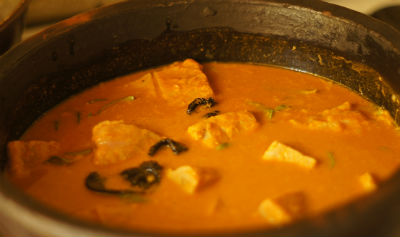 Fish Curry with Coconut
