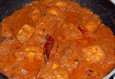 Fish in Thick Tomato Gravy - Macchi Patia