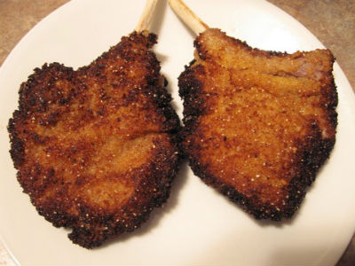 how to cook fried lamb chops