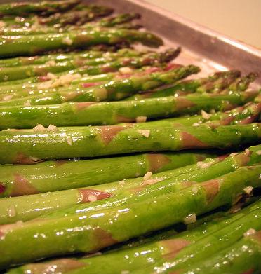 Ginger Garlic Asparagus