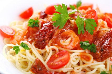 Ginger Tomato Chicken Pasta