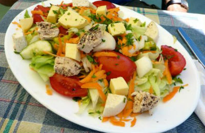 Gozo Cheese Salad
