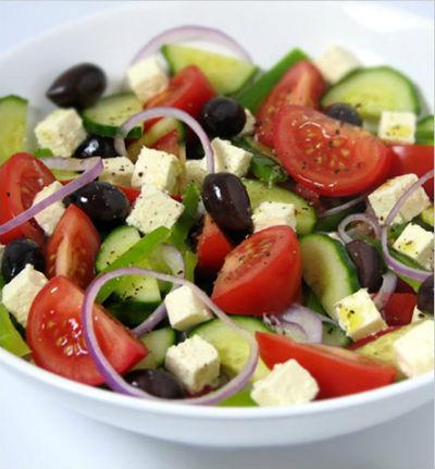 Greek Salad - Greek Salad