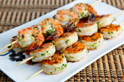 Grilled Shrimp Skewers - Grilled Shrimp Skewers