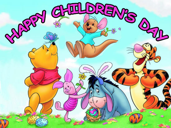 Happy Childrens Day - Delicacies for Children's Day