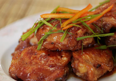 Honey Ginger Chicken - Honey Ginger Chicken
