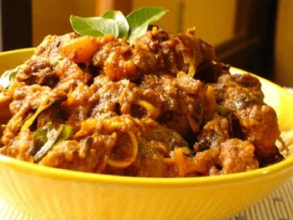 Kerala style Mutton Olathiyathu