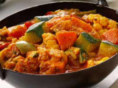Konkani Mixed Vegetable Curry