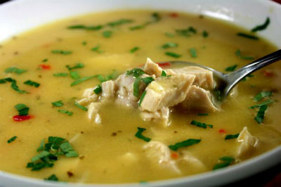 Lemony Chicken Soup - Lemony Chicken Soup
