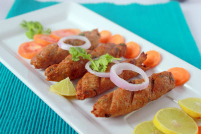 Murgh Seekh Kebab