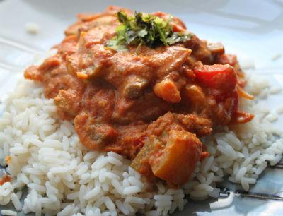 Spicy Chicken in a thick gravy