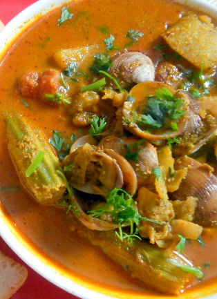 Mussel Curry Coconut - Mussel Curry with Coconut
