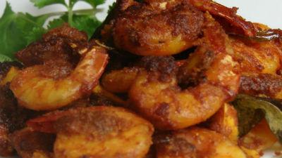 Nadan Chemmeen Curry
