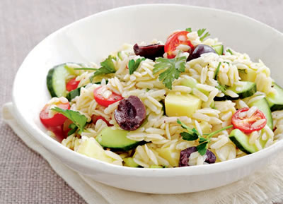 Pasta Rice Salad - Pasta Rice Salad