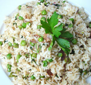 Peas Pulao - Peas Fried Rice