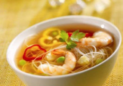 Prawn Soup - Prawn Soup with Potatoes