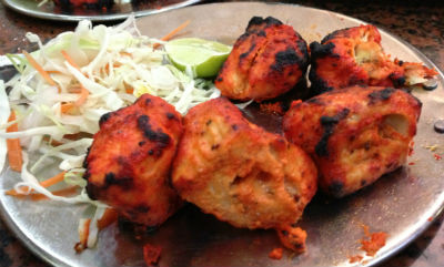 Mint Fish Tikka