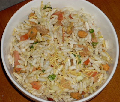 Puffed Rice Chaat