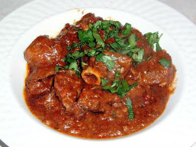 Spicy Lamb in Thick Gravy