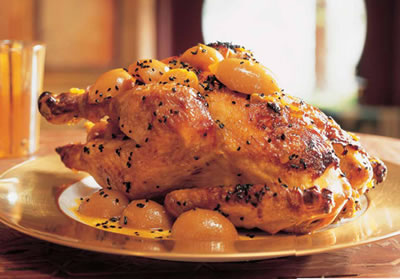 Roast Chicken Lemon Sauce - Roast Chicken with Lemon Sauce