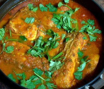 Fish cooked in Tomato Gravy / Ruwagan Gadh