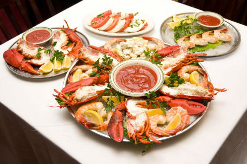 Seafood Platter - Health Benefits of Seafood