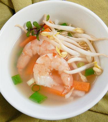 Shrimp and Lemongrass Soup Recipe