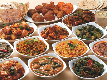 Indian Vegetarian Food In Bangkok