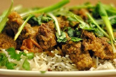 South Indian Lamb - Erachi Varattiyathu
