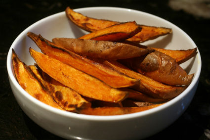 Spicy%20Sweet%20Potato%20Wedges - Spicy Sweet Potato Wedges