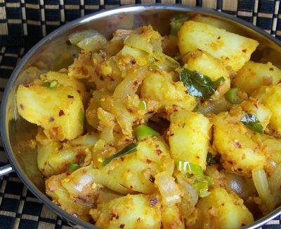 Spicy Potato Podimas