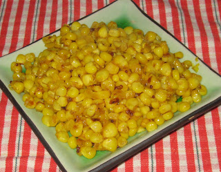 Spicy Stir Fried Corn - Spicy Stir-Fried Corn